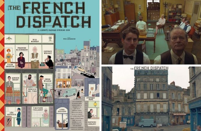 Wes Anderson imzalı 'The French Dispatch'ten ilk fragman